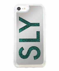 SLY [ウォーターミラー(LOGO)_GREEN] iPhone8