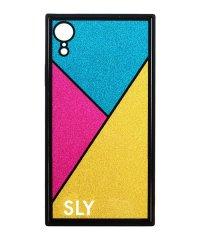 SLY [ラメガラス_GOLD] iPhoneXR