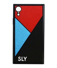 SLY [ラメガラス_BLACK] iPhoneXR