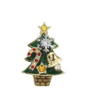 クリスマスツリー ブローチ