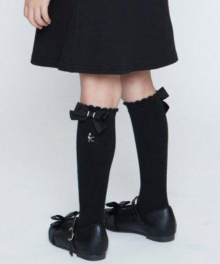 【16-24cm】ピコベタ無地ハイソックス