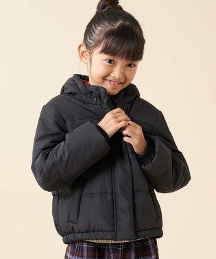 【洗える】[140-150]ショートナカワタパフジャケット