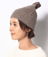 【Samansa Mos2/サマンサ モスモス】ネップヤーン ニット帽