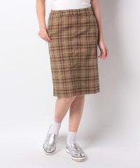 【Lugnoncure/ルノンキュール】TRPUチェックタイトスカート