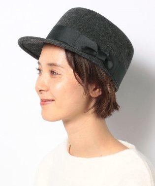 【Samansa Mos2】フェルト乗馬帽