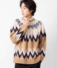 WEGO/球芯柄ロービングヤーンセーター
