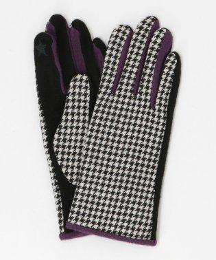 CASSELINI(キャセリーニ)千鳥柄 グローブ / 手袋