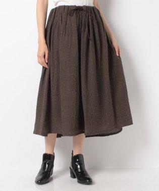 【mizuiro ind】gatherd スカート