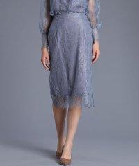 《Maglie White》レースタイトスカート