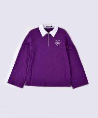 【ニコプチ掲載】ラガーシャツ風Tシャツ