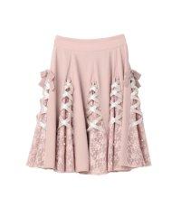 シークレットレーシースカート / mille fille closet