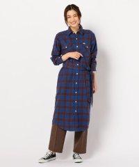 【Lee/リー】WORK DRESSチェックシャツワンピース