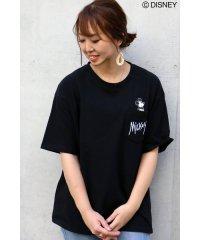 ミッキーinポケットBIGTシャツ