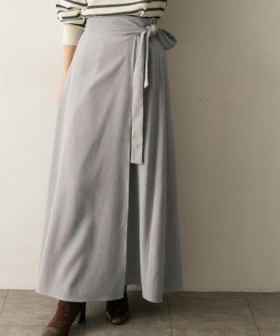 ロングラップスカート