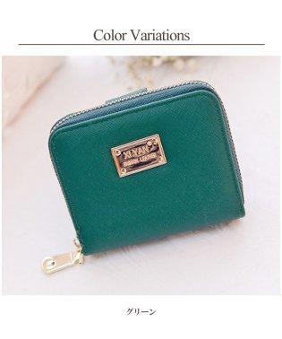 レディース コンパクト財布 ラウンドファスナー  韓国ファッション