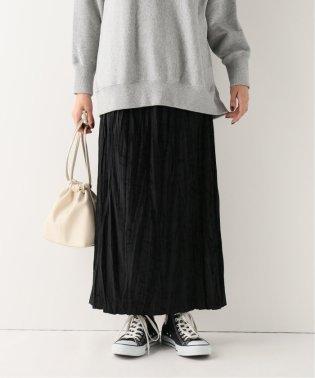 ベロアランダムプリーツスカート