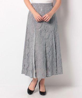 マーメイド風レーススカート