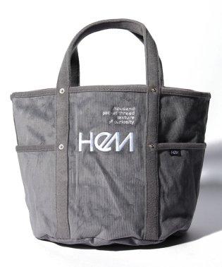 【HeM】 トート コーデュロイ M