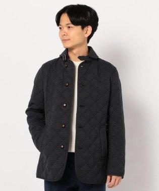 丸襟 キルティング ジャケット