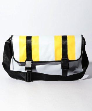 PVC配色メッセンジャーバッグ