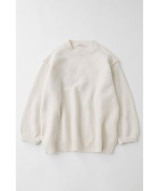 VOLUME SLEEVE B/N KNIT チュニック