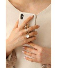 キラリングスタンドスマホケース iPhoneX/XS