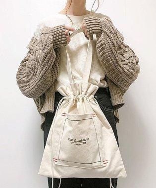 Rename ハンプ 巾着トートバッグ