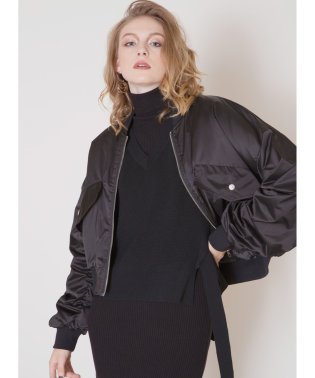 Satina Bomber Jacket