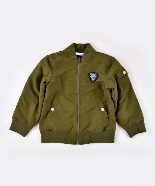 裏フリースMA-1タフタジャケット