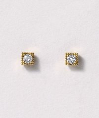 [セカンドピアス] K18ダイヤモンドピアス 0. 06ct(YG)