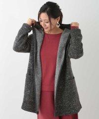 【大きいサイズ】起毛フードコート