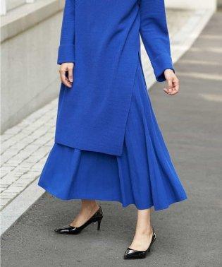 【セットアップ】ロングニットスカート