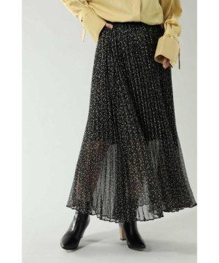 <WEB限定>フラワープリントロングスカート