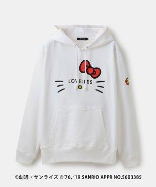 【LOVELESS×HELLO KITTY】キティロゴアイコラボフーディー