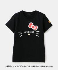 【LOVELESS×HELLO KITTY】キティロゴアイコラボTシャツ