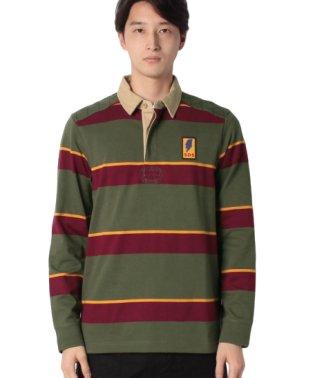 ボーダーラガーシャツ