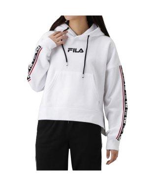 FILA フィラ ロゴテープショートプルパーカー FL1739