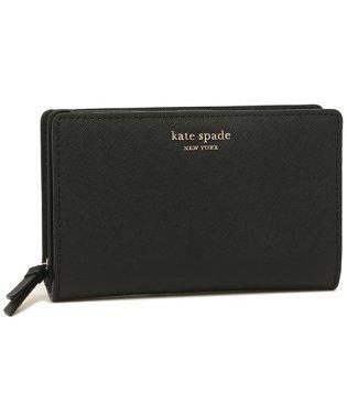 ケイトスペード 財布 アウトレット KATE SPADE WLRU5440 001 CAMERON MEDIUM BIFOLD WALLET レディース 二つ折