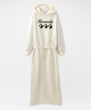 【LOVELESS×NO PANTIES】サイドZIP パーカー ドレス