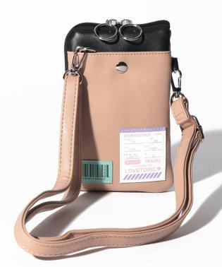 ユニークパッチつき2WAY財布