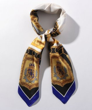 MACKINTOSH PHILOSOPHY(マッキントッシュフィロソフィー)   シルクツイルプリントスカーフ