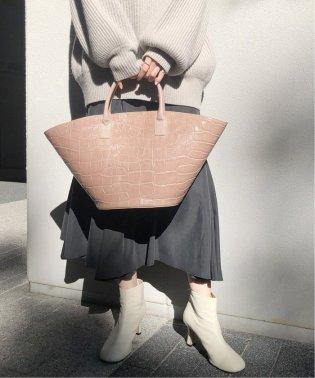 【DEL CONTE】 マルシェレザートートバッグ