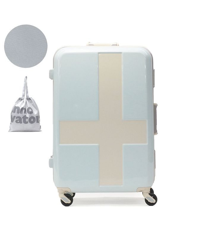 (innovator/イノベーター)イノベーター スーツケース innovator キャリーケース フレーム 軽量 旅行 INV58T(60L 3〜5日 Mサイズ)/ユニセックス ライトブルー