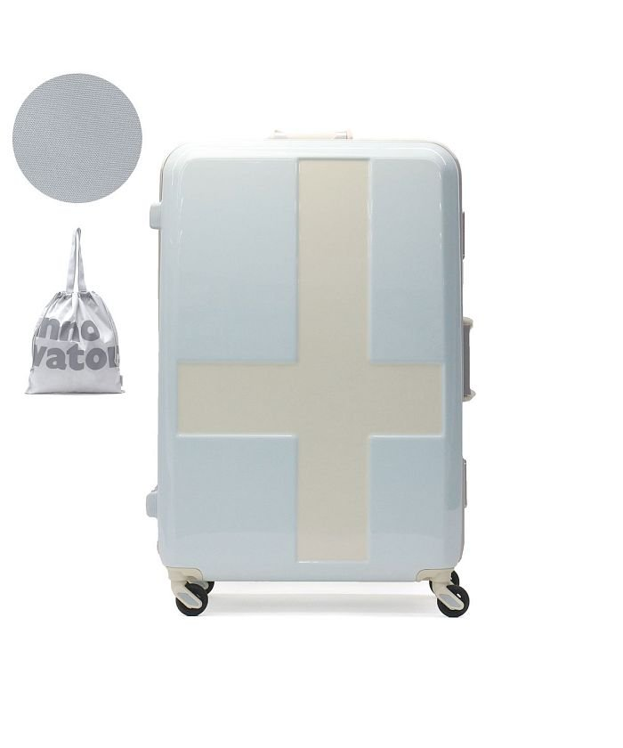 (innovator/イノベーター)イノベーター スーツケース innovator キャリーケース フレーム 軽量 旅行 INV68T(90L 7〜10日 Lサイズ)/ユニセックス ライトブルー