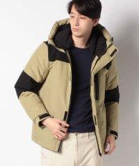 ストレッチ中綿フードジャケットコート