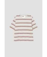 IRREGULAR STRIPE COTTON JERSEY