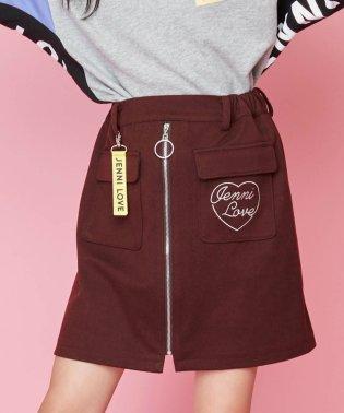 前ZIPスカート
