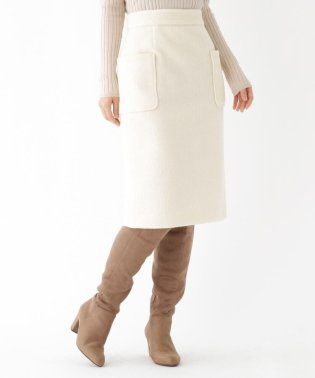 【Lサイズあり】ループヤーンタイトスカート