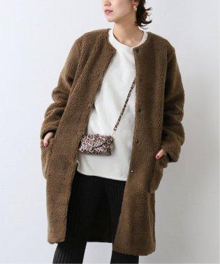 【ARMEN/アーメン】NO COLLAR LONG COAT:コート
