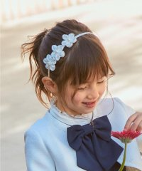 【セレモニー】パールお花カチューシャ